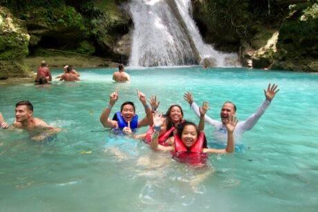 Blue Hole Secret Falls